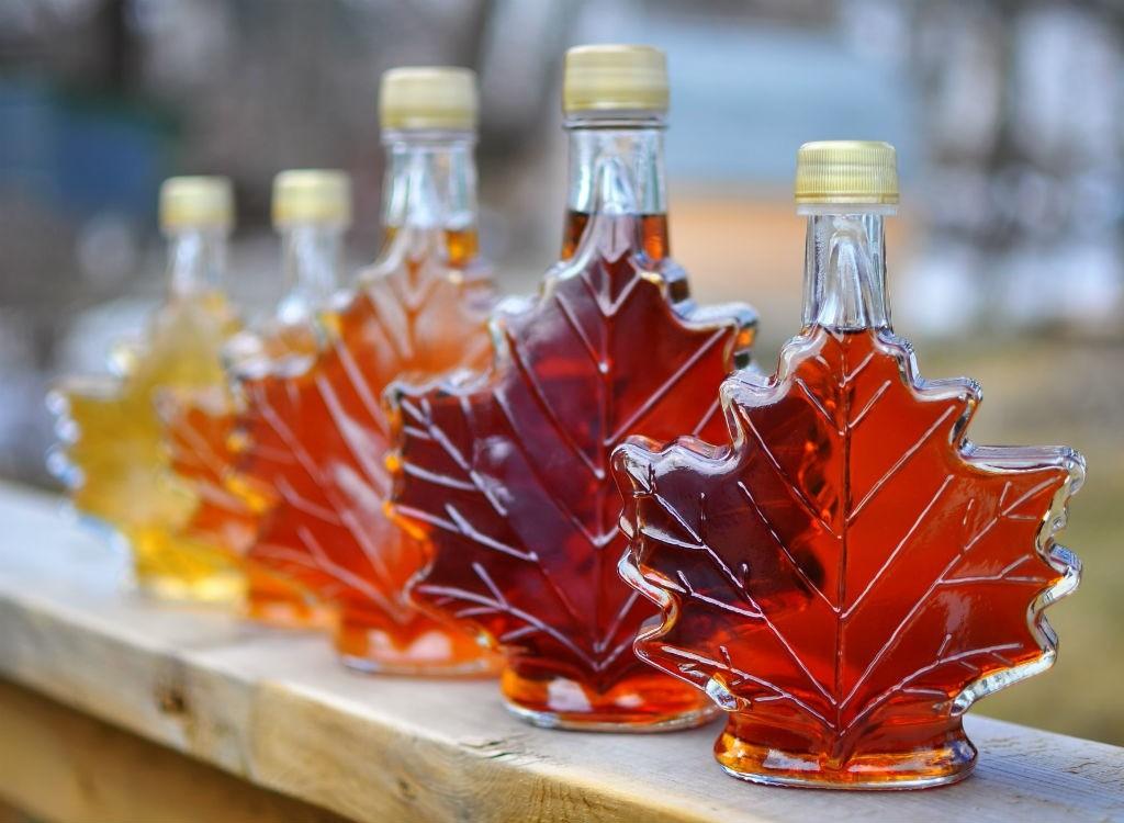 siro lá phong, món hấp dẫn của Canada