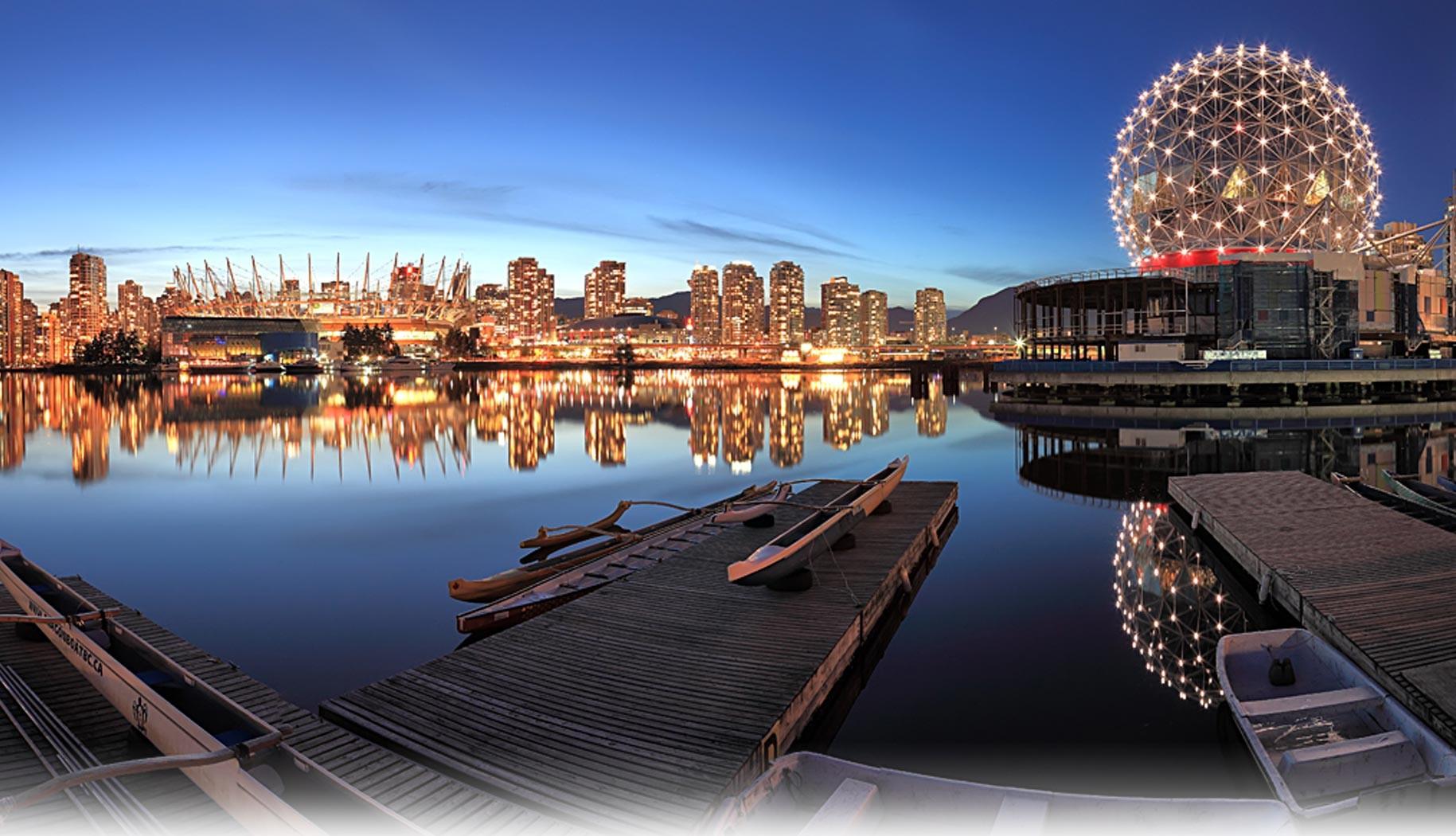 Canada là một bức tranh thiên nhiên tuyệt vời